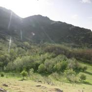 Dimineata de primavara in Macin - langa Manastirea Fantana de Leac