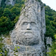Defileul Dunarii - Cazane - Statuia lui Decebal - Mraconia