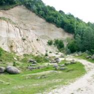 Exploatarea de nisip, Trovantii Costesti, Judetul Valcea