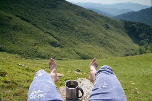Aşa se bea o cafea bună / Creasta Oslei, Oslea, Muntii Valcan, Gorj, Hunedoara