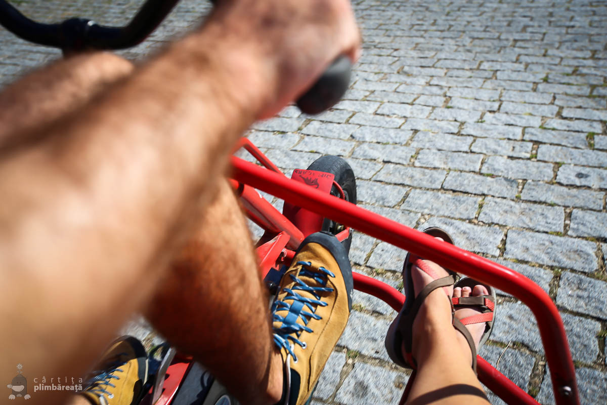 Alba Iulia - plimbare cu bicicleta