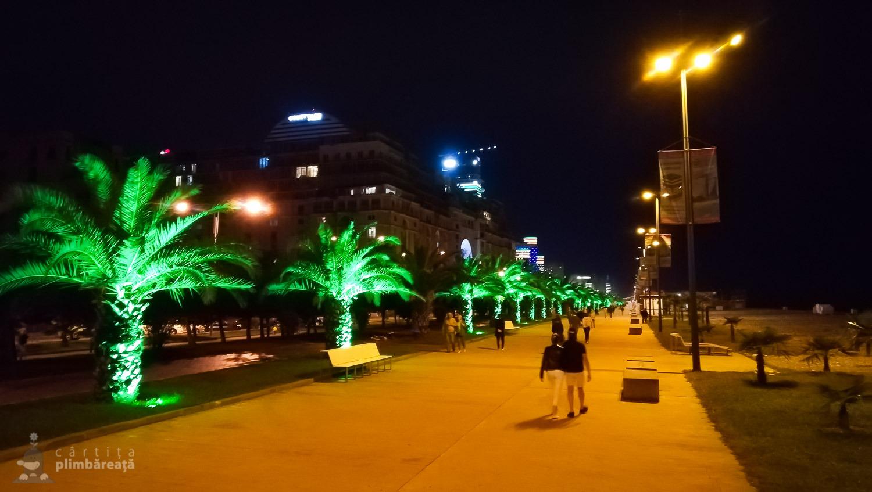 Aici palmierii chiar se prind :) Promenada Batumi