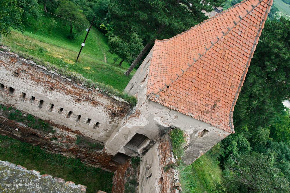 Zidurile Cetatii din Slimnic - Stolzenburg