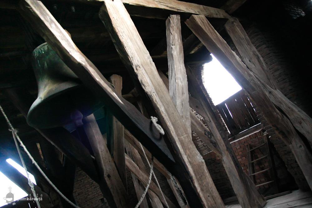 In Turnul Clopotnitei - Cetatea din Slimnic - Stolzenburg
