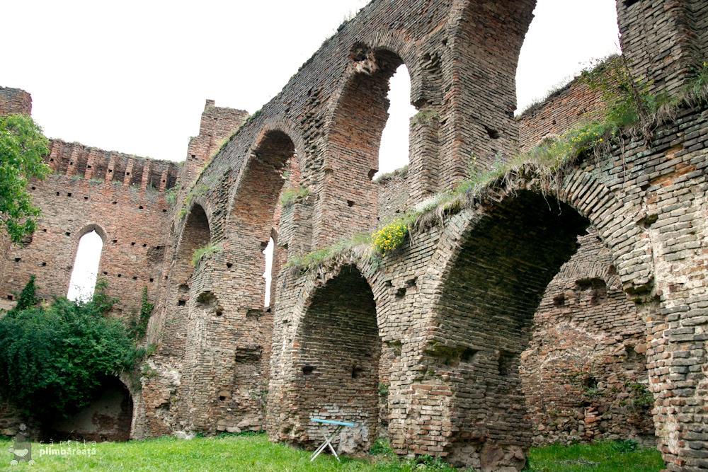 Arcade pe doua niveluri - Cetatea din Slimnic - Stolzenburg