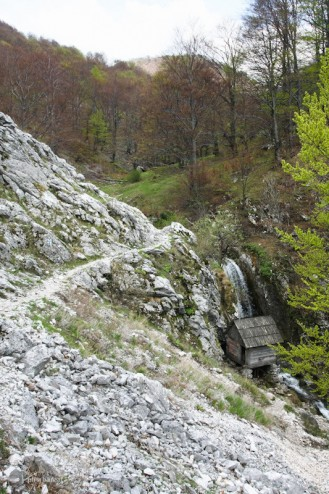 Moara Dracilor (Cheile Tasnei-Valea Cernei, Muntii Mehedinti)