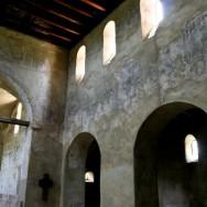 Interiorul bisericii - Cetatea Cisnadioara