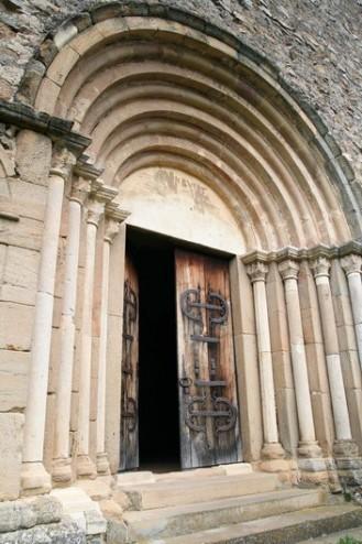 Arcadele portalului romanic - Cetatea Cisnadioara