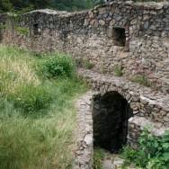 Zidurile cetatii - Cetatea Cisnadioara
