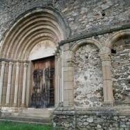 Arcurile romanice ale portalul de vest - Cetatea Cisnadioara