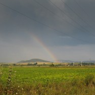 In drum spre Racos dupa o furtuna de toata frumusetea