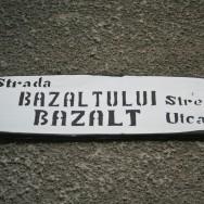 Strada Bazaltului, pai cum altfel...