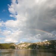 Curcubeu in Cazanele Dunarii