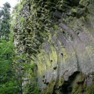 Coloane de bazalt curbate - Detunatele - Muntii Apuseni / Metaliferi