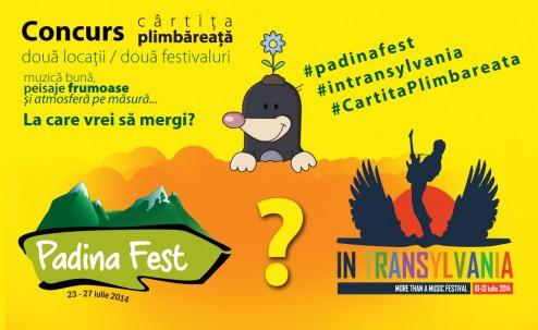 Padina Fest sau In Transilvania? Ce festival alegi?