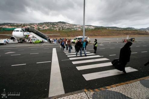 Dupa ce cobori din avion in Funchal :-)