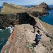 Golf pe stanga, golf pe dreapta - Peisaj superb si trasee sigure - Madeira - Peninsula Sao Laurenco