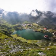 Lacul si Cabana Balea - Fagaras