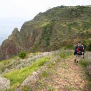 Alee pietruita si trepte - asa arata un traseu amenajat in Madeira