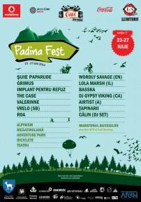 Afis Padina Fest 2014