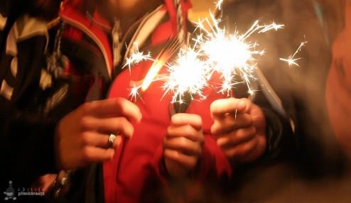 O idee de revelion - apusul pe creasta in Fagaras si focuri de artificii in Sibiu