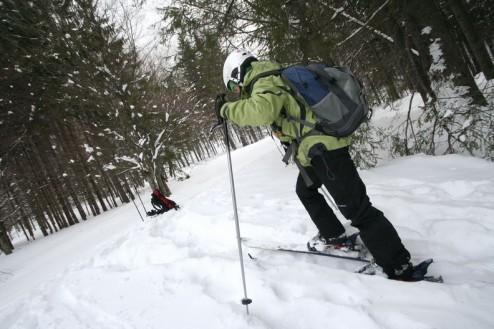 Ski de tura spre Zaganu
