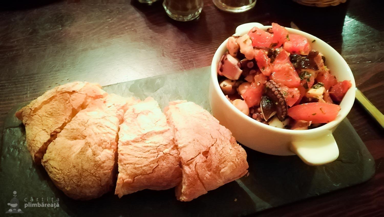 Ta'Kris - salata de caracatita