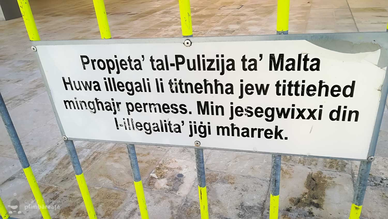 Exemplu de limba malteza :)