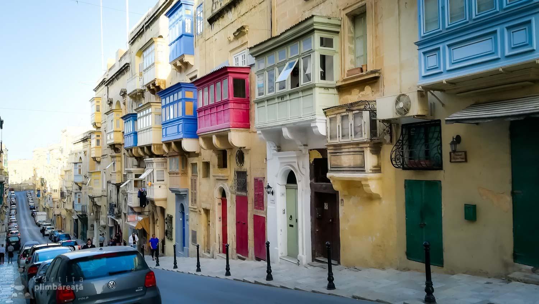 Strada tipica pentru Valletta