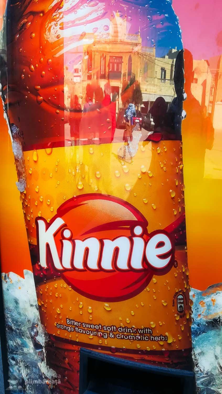 Kinnie - bautura racoritoare traditionala din Malta