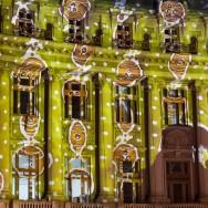Cladiri de turta dulce, Piata de Craciun, Universitate, Bucuresti 2012
