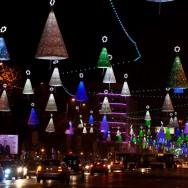 Lumini de Craciun, Bucuresti 2012