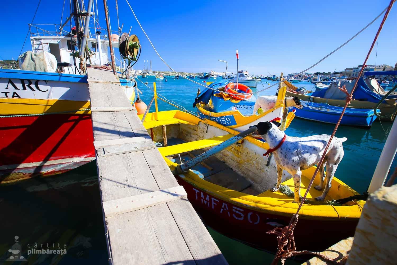 Barci traditionale malteze - luzzu