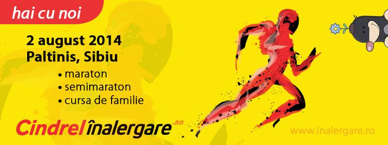 Maraton, semimaraton si cursa de familie - Cindrel InAlergare